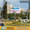 Outdoor Digital LED Screen Advertising Unipole Display Billboard