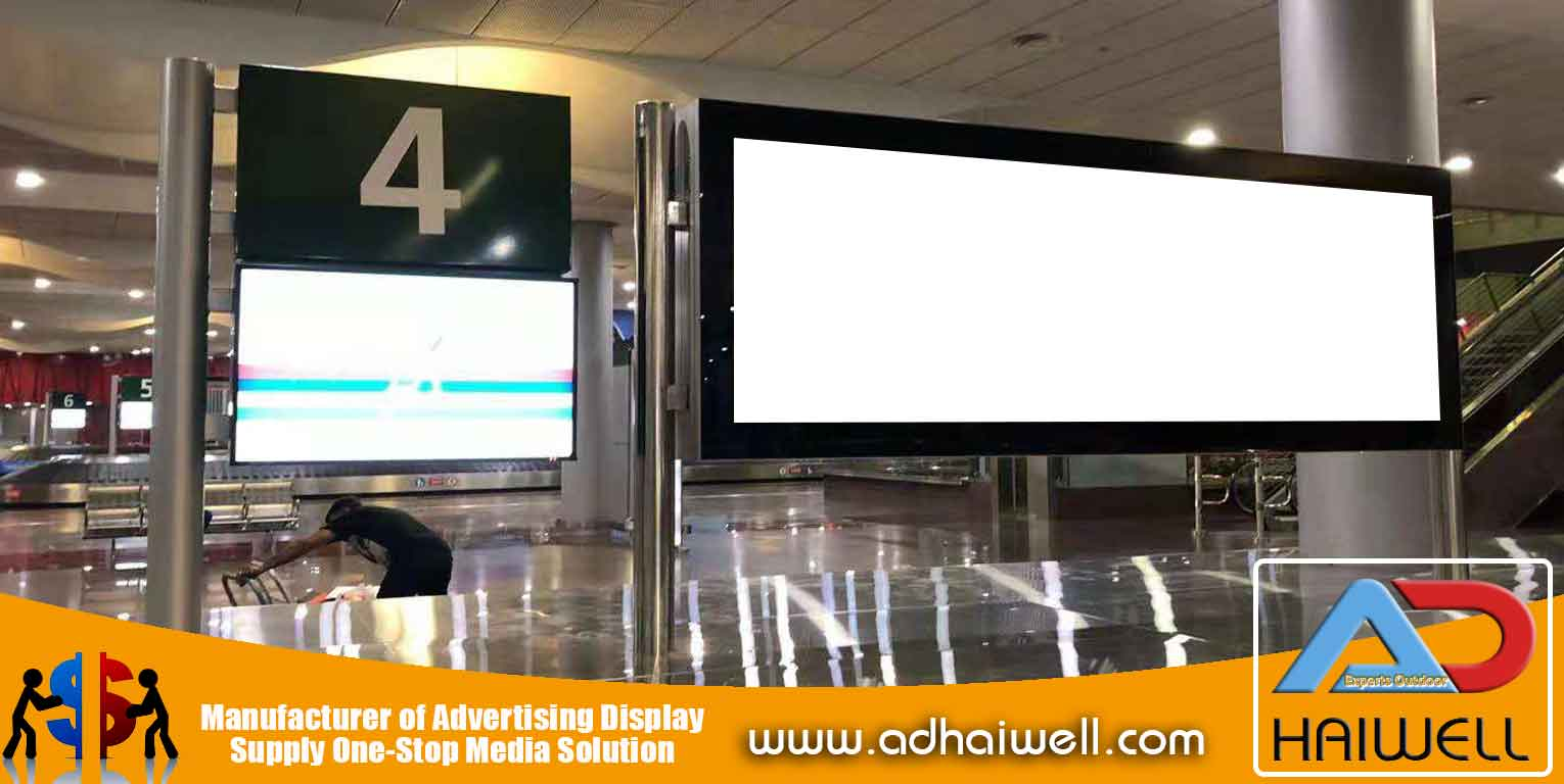 Scroller-Signage-LED-Light-Box-in-Mauritius-airport