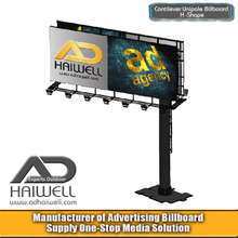 Cantilever Column Outdoor Advertising Billboard Signs