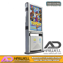 China Supplier Trash Cans Advertising Light Box - Adhaiwell