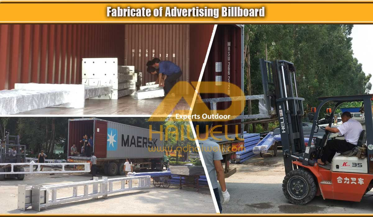 Loading-4m-x3m-Advertising-billboard-in-40HQ-container