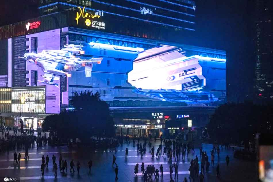 Latest-outdoor-3D-LED-Screen-Display