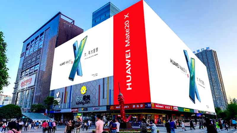 How to Make Outdoor LED Advertising Display Content a Hot Search?