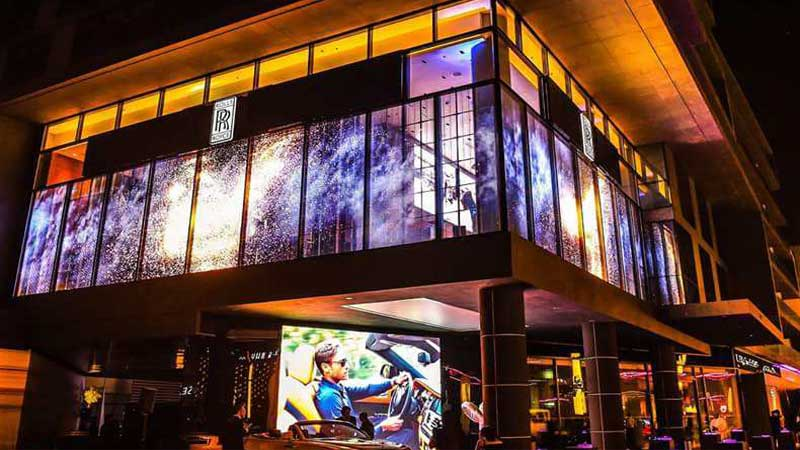 Transparent LED Screen Becomes the New Darling of New Retail
