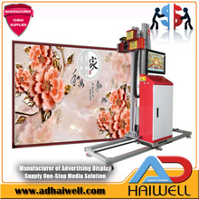 3D Wallpaper Painting Digital UV Inkjet Printing Machine