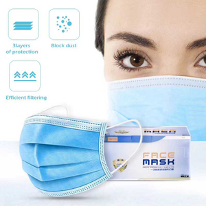 3Ply Disposable Civil Protective Face Mask
