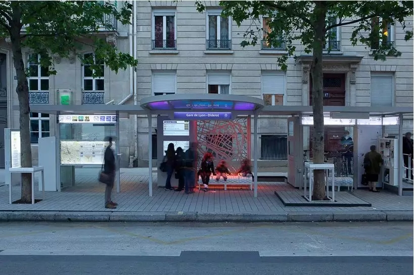 more visible bus shelter stop