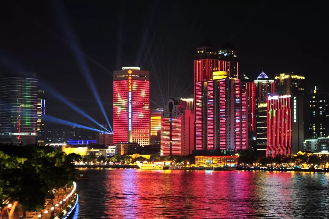 2019 China Nation LED Display Builiding lighting show
